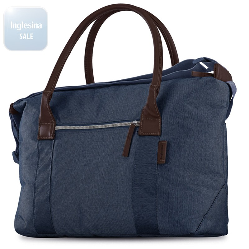 Inglesina Quad Day Oxford Blue. Сумка Инглезина Куад Дей