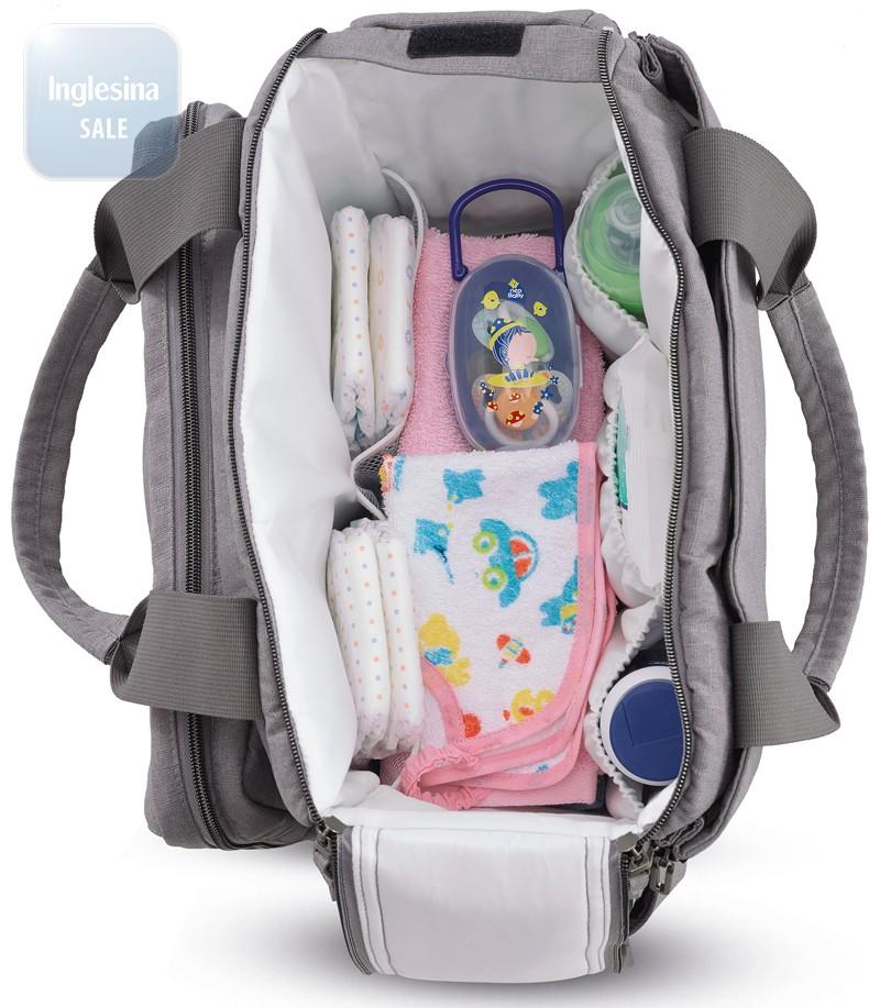 33931943aa50 Inglesina Dual Bag Askott Green. Купить сумку для мамы Инглезина ...