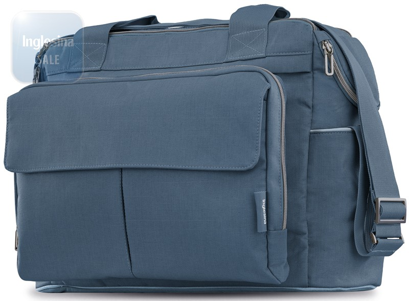 Inglesina Dual Bag Artic Blue. Сумка Инглезина Дуал Бэг Артик Блу