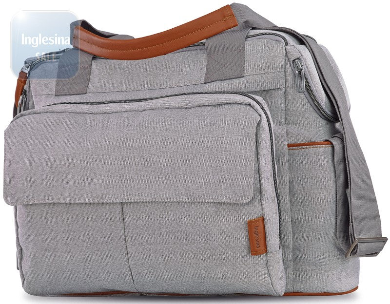 Inglesina Dual Bag Derby Grey. Сумка Инглезина Дуал Бэг Дерби Грей