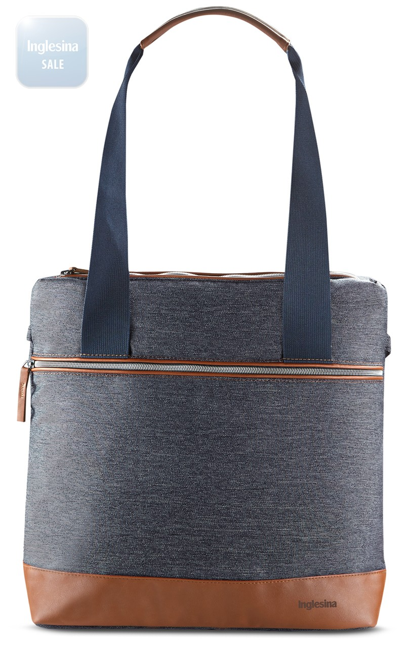 Inglesina Back Bag Indigo Denim. Сумка-рюкзак Инглезина Бек Бэг Индиго Деним