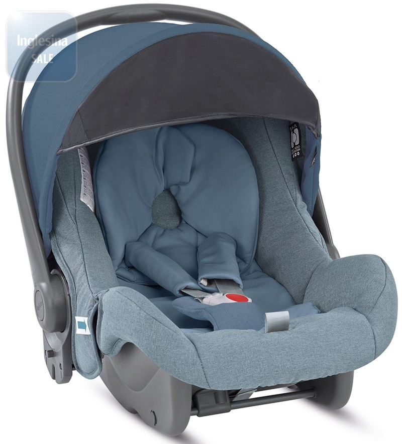 Inglesina Huggy Multifix Artic Blue. Автокресло Инглезина Хагги Мультификс Артик Блу