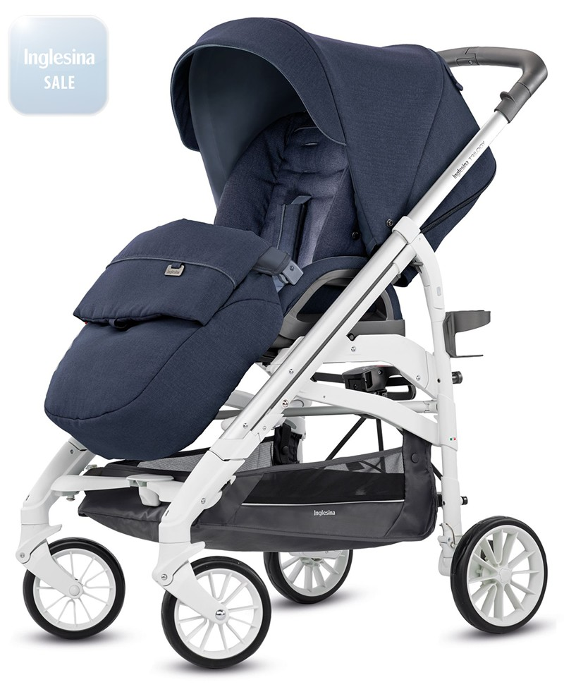Inglesina Trilogy Imperial Blue. Прогулочная коляска Инглезина Трилоджи Империал Блу