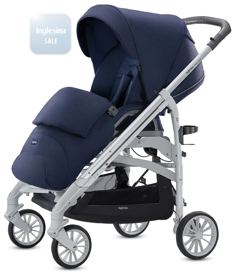 Inglesina Trilogy Sailor Blue. Прогулочная коляска Инглезина Трилоджи Сейлор Блу