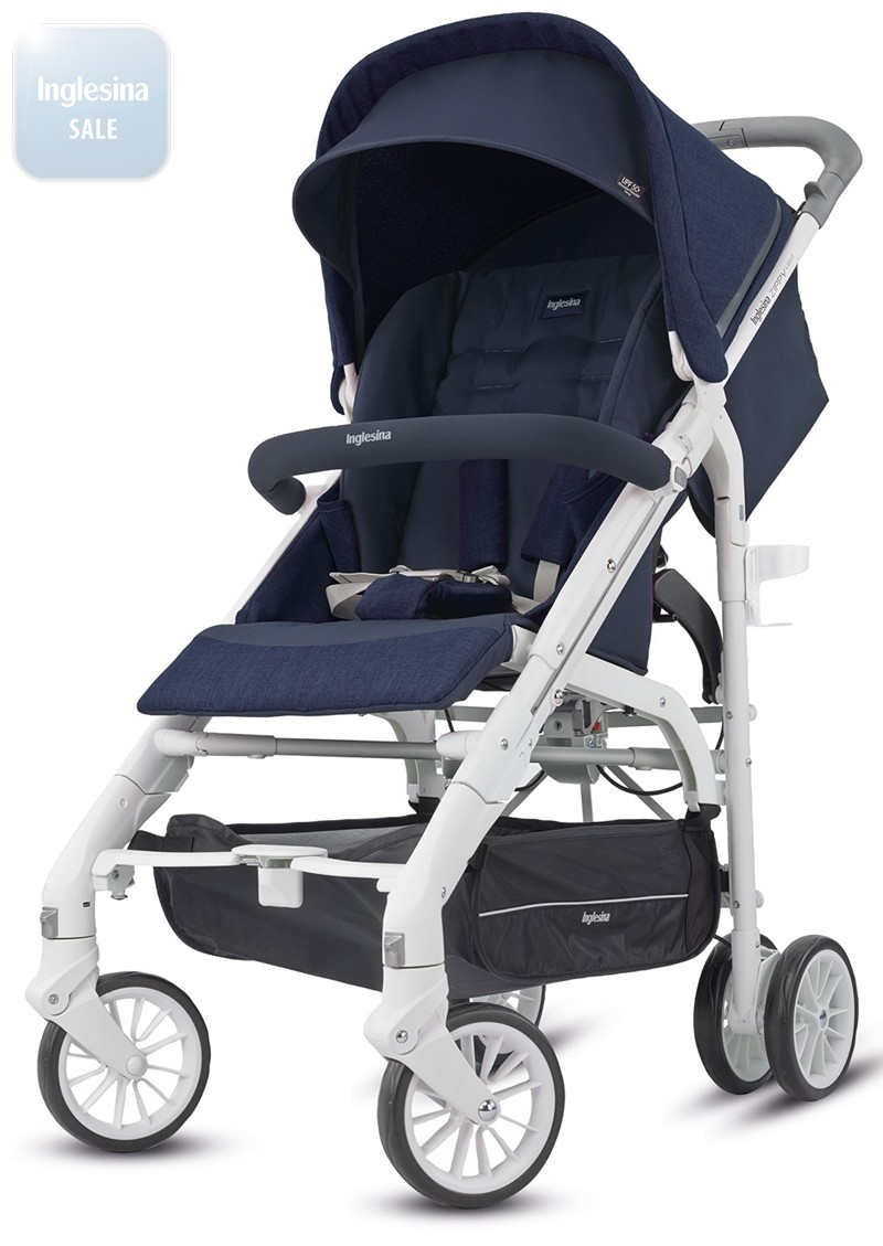 Inglesina Zippy Light Midnight Blue. Прогулочная коляска Инглезина Зиппи Лайт Миднайт Блу