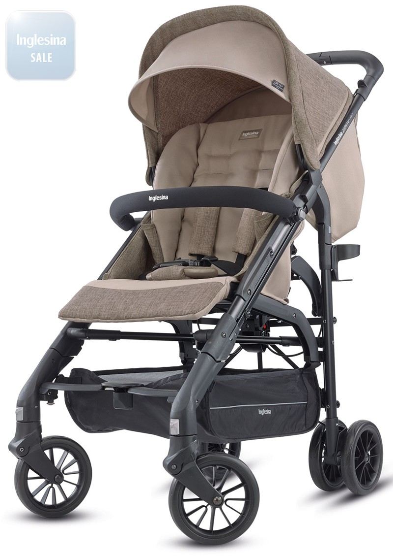 Inglesina Zippy Light Safari Beige. Прогулочная коляска Инглезина Зиппи Лайт Сафари Беж